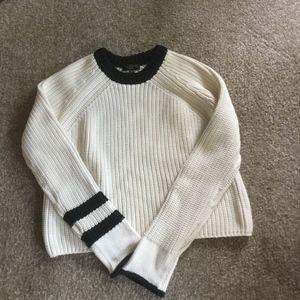 Rag & Bone Cotton/Nylon Blend Sweater